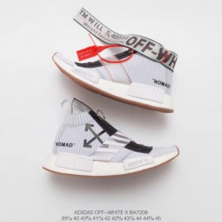 Ba7208 OFF-WHITE X Adidas Originals NMD City Sock White Mountain Crossover Bespoke