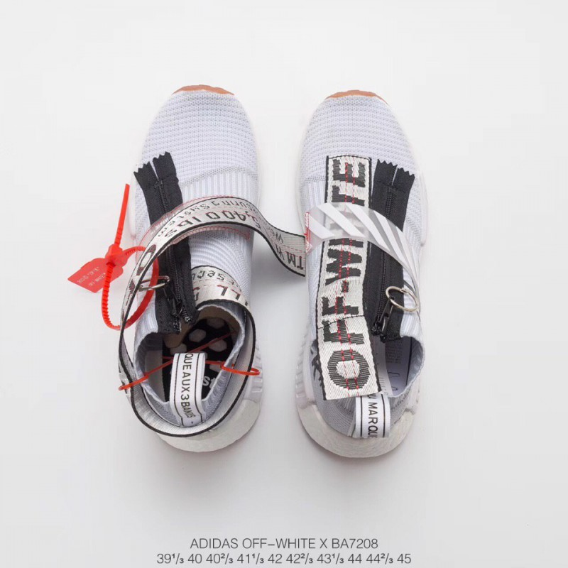 newest 02a7b d2d85 Fake Off White X Adidas Originals Nmd City Sock,Adidas ...