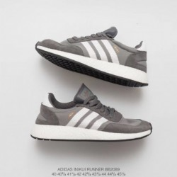 Bb2089 Adidas INIKI Runner Vintage Ultra Boost Trainers Shoes