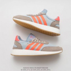Bb2098 Adidas INIKI Runner Vintage Ultra Boost Trainers Shoes