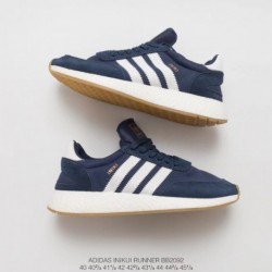Bb2092 Adidas INIKI Runner Vintage Ultra Boost Trainers Shoes