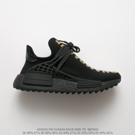 differently 6dc16 e78db Adidas Pharrell Williams Human Race Nmd Tr,BB7603 Ultra Boost NMD Human  Racing Shoes Pharrell Williams Crossover Black Gold Pha