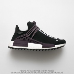 AC7033 Ultra Boost NMD Human Racing Shoes Pharrell Williams Crossover Pharrell Williams Adidas Origianlas Human Race NMD Truth