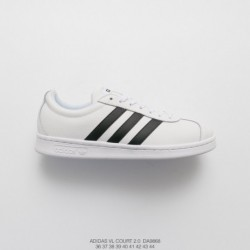 Adidas IDAS VL Court 2.0 NEO Leather Upper Fashion Casual Skate Board Shoes