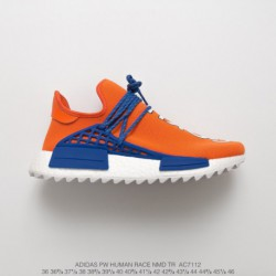 AC7112 Ultra Boost NMD Human Racing Shoes Dragon Ball Colorway Goku Pharrell Williams Crossover Pharrell Williams Adidas Origia