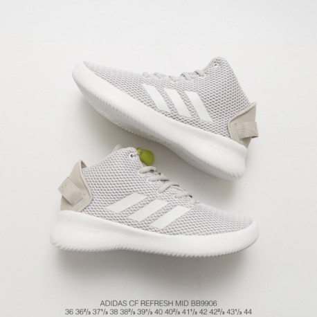 Bb9906 Adidas NEO Cf Refresh Mid Trend Sports Running Leisure Shoe