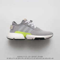 B37465 Deadstock Adidas Originals POD-S3.1 Boost Deadstock Ultra Boost Dash Sneaker Pale Grey Green Adidas POD-S3.1 The Most An