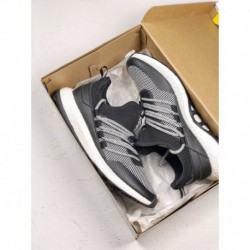 Ba8803 Adidas Pureboost Lightweight Racing Shoes Retains Classic Vintage Shape And Extended Tonge Elements