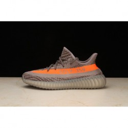 Original Adidas Yeezy Boost 350 V2 UNISEX Bb1826 Grey Orange