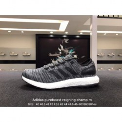 Adidas / adidas pureboost reigning champ m ultra boost knitting breathable trainers shoes 440731585