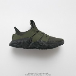 Bd7589 Mens FSR Adidas Originals Prophere Hedgehog Sets Flyknit All-Match jogging shoes green black
