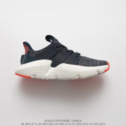 Da9618 FSR Adidas Originals Prophere Hedgehog Sets Flyknit All-Match jogging shoes grey black orange