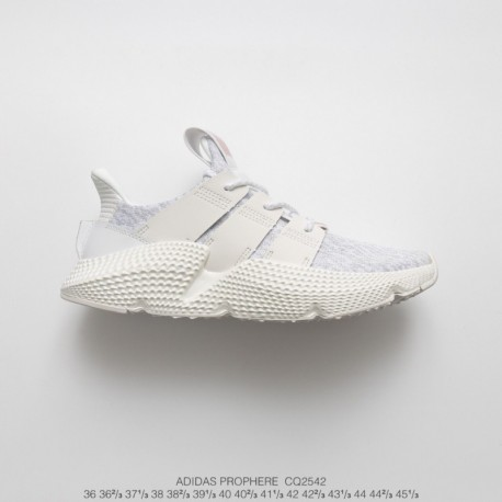 new styles e85ad 22125 New Sale Cq2542 FSR Adidas Originals Prophere Hedgehog Sets Flyknit  All-Match jogging shoes pale grey rose