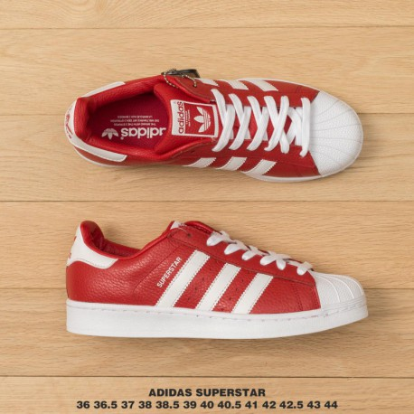 brand new 93ba7 b78bf New Sale Bb2240 23 adidas shell head superstar super soft shell head  premium leather upper material red white