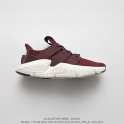 Adidas-Prophere-Black-Red-AC8721-FSR-adidas-Originals-Prophere-Hedgehog-Set-Footknit-All-match-Jogging-Shoes-Wine-Red-White