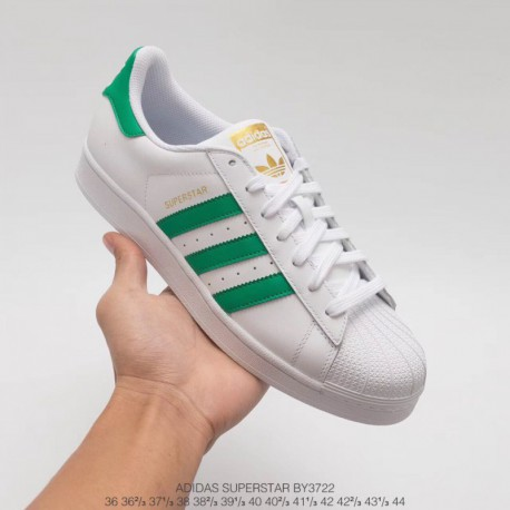 the latest 7cec7 fef72 Adidas Superstar White Green Stripes,Adidas Superstar 2 White Green,BY3722  The strongest AdidasSuperstar White Green Stan Smith