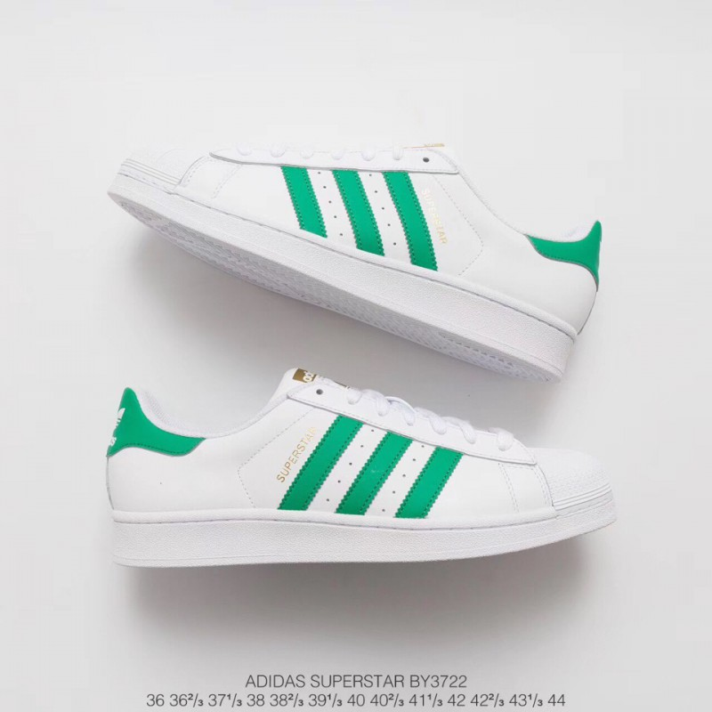 reputable site 432b9 b2401 Adidas Superstar White Green Stripes,Adidas Superstar 2 ...