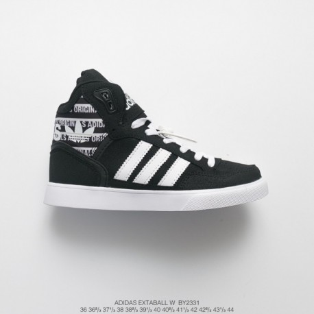By2331 FSR UNISEX Adidas Extaball W Casual High Sports Skate Shoes