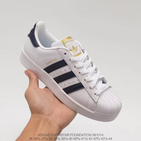 S81014 all new colorway launched the adidas superstar navy shell head to the mark