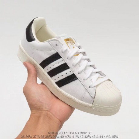 Bb0188 Ultra Boost Adidas Superstar Boost Implant Midsole Ultra Boost Shell Head Skate Shoes Leather Upper White Black Stan Smi