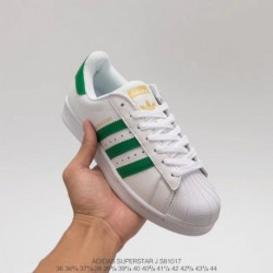 Adidas-Superstar-80s-Green-White-Adidas-Superstar-Ii-White-Green-S81017-Upper-Adidas-Shell-Head-White-Green-Stan-Smith-Classic