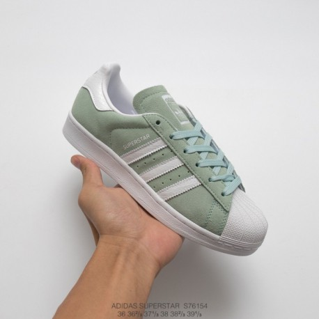 adidas Superstar Bounce Shoes Green BB2294