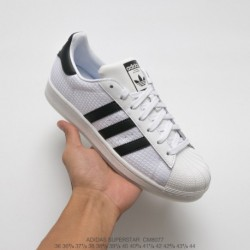 Cm8077 FSR Adidas Originals Superstar Midsole Shell Skate Shoes White Black