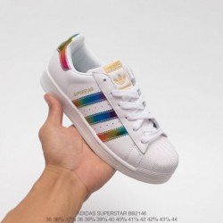 Bb2146 upper adidas shell head colorful laser classic look