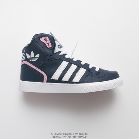 S75002 FSR Womens Adidas Extaball W Casual High Sports Skate Shoes