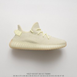 e233751e9 F36980 Ultra Boost Adidas Yeezy 350V2 Boost Collection Yellow Trainers Shoes