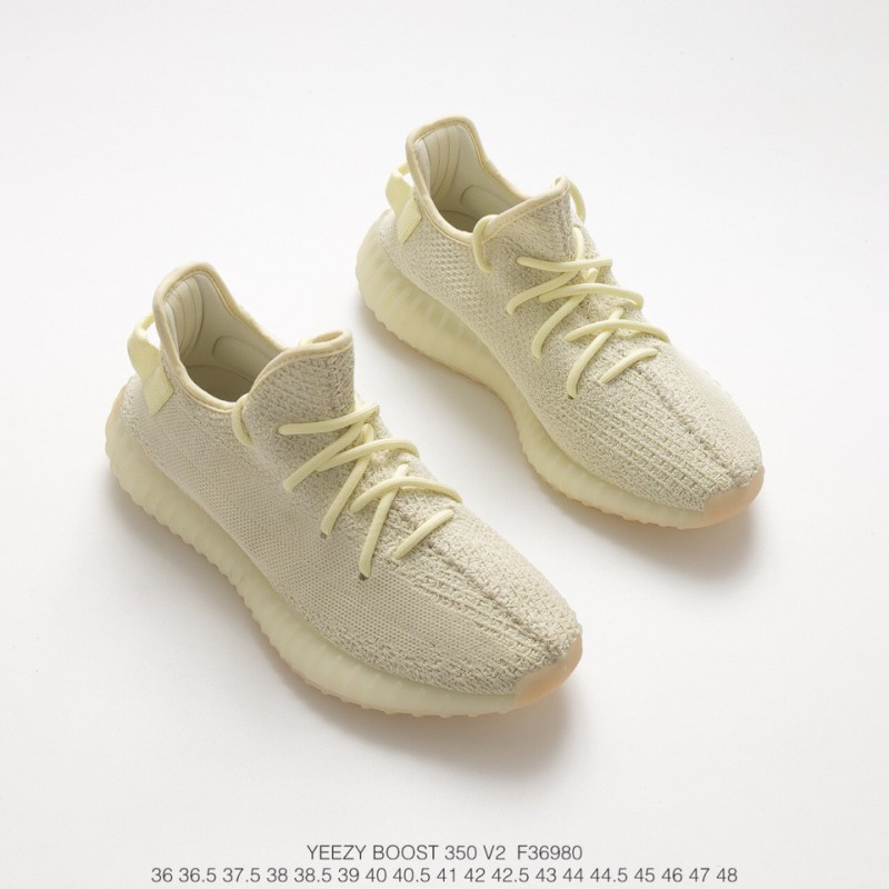 8e07e4616 ... F36980 Ultra Boost Adidas Yeezy 350V2 Boost Collection Yellow Trainers  Shoes
