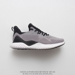 DB1126 FSR Adidas Alphabounce Beyond High-Elastic horse shark crepe outsole jogging shoes rain point light grey black
