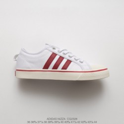 Cq2328 grade school once again hits the classic adidas nizza couple classic duck skate shoes