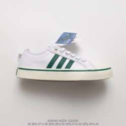 Cq2327 grade school once again hits the classic adidas nizza couple classic duck skate shoes