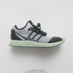 Aq0357 4D Printing Technology Premium Source Adidas Y-3 Runner 4D Print Ing Aq0357 Super Premium Racing Shoes Global Limited Ed