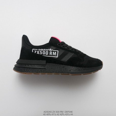 reputable site 785b8 7a52c Adidas Zx 500 Boost Black,Mens Ultra Boost Deadstock Adidas ZX500 RM Boost  OG ZX500 Ultra Boost All-match Vintage Jogging Shoes