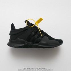 Adidas-Eqt-All-Black-Adidas-Eqt-Shoes-Black-D96771-UNISEX-FSR-Adidas-EQT-Support-Adidas-V-Knitting-Collection-All-match-Shoes-W