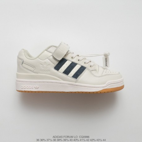 Cq0996 Leather Upper Vintage Trends UNISEX Adidas IDAS Forum MID Low Classic Velcro Vintage Skate Shoes UNISEX Trends Leisure S