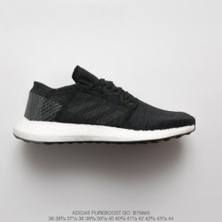 Adidas-Mens-Pureboost-Clima-Running-Shoes-B75665-Premium-BASF-OUTSOLE-Adidas-Pure-Boost-GO-Ultra-Boost-Midsole-Collection-Joggi