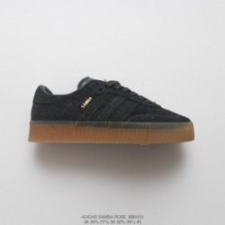 Bb9151 FSR Womens Adidas Originals Samba Rose W Samba Collection Muffin All-Match classic skate shoes