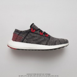 B75666 UNISEX Premium BASF Outsole Adidas Pure Boost Go Ultra Boost Midsole Collection Jogging Shoes Go Oreo Grey Red White