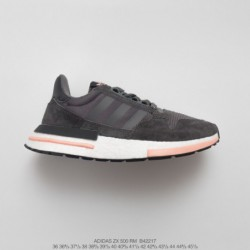 B42217 UNISEX Ultra Boost Deadstock Adidas ZX500 Rm Boost OG ZX500 Ultra Boost All-match Vintage Jogging Shoes Off-White powder