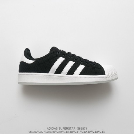 S82571 FSR Adidas Originals Superstar Midsole Shell Skate Shoes Collection Whole Black