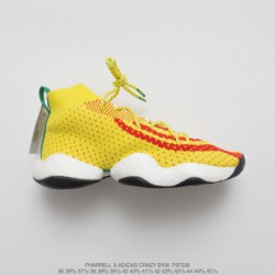 F97226 Ultra Boost UNISEX Pharrell X Adidas Crazy Byw LVL 1 Pharrell Williams Feet You Wear Collection Flyknit Increases Ultra