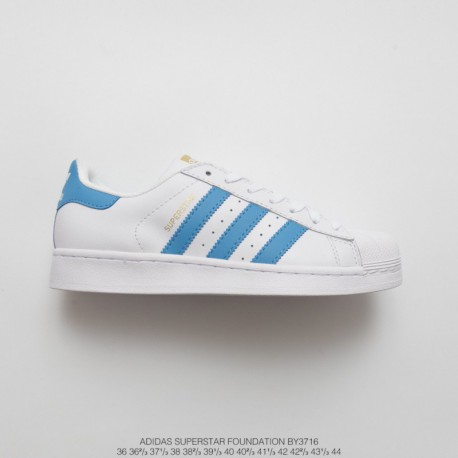 BY3716 FSR UNISEX Adidas Superstar Shell Head Classic Skate Shoes White North Card Blue