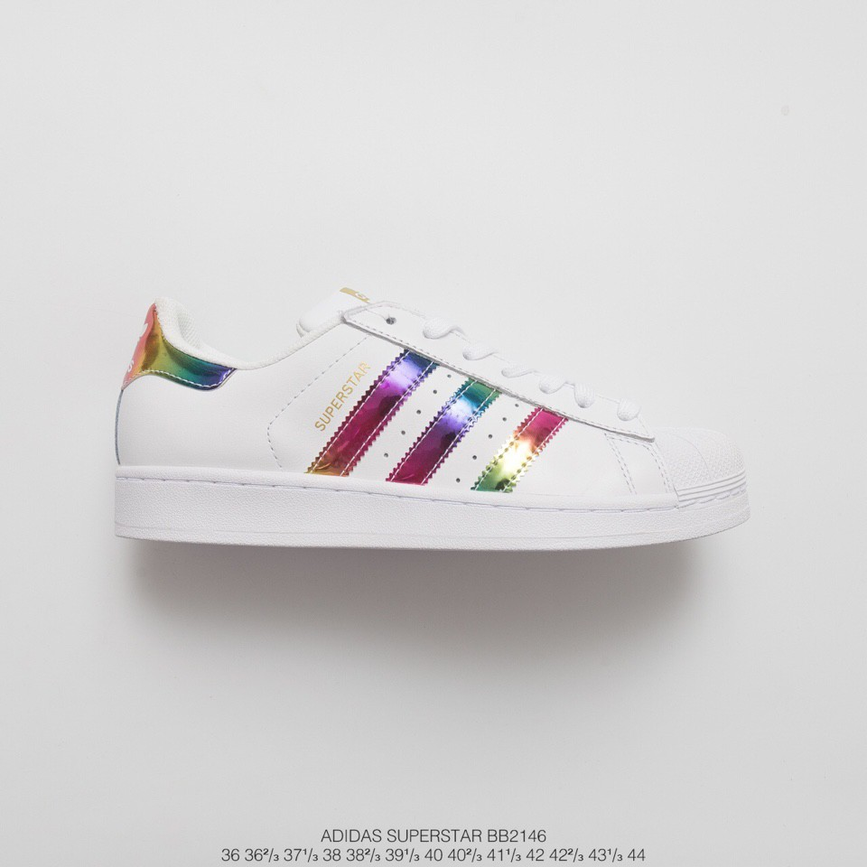 Mens Womens Sneakers Adidas Superstar Flower Embroidery CG6407 cg6407