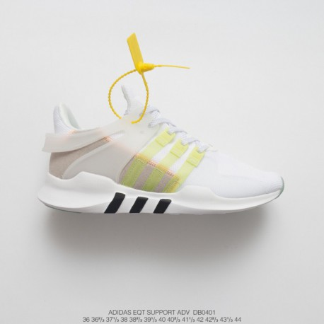 DB0401 FSR UNISEX Adidas EQT Support Adidas V 93/17 set knitting collection all-match shoes white fluorescent green grey