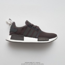 Cq2412 Mens Ultra Boost Evergreen Deadstock Adidas NMD R1 Boost All-Match casual trainers shoes breathing network chocolate