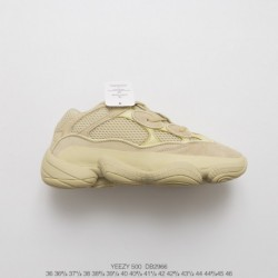 Yeezy 500 Yeezy Desert Rat 500 Adidas Official Main Instagram Pre-exposure Attention Factory Lacing Original Assembly Process P