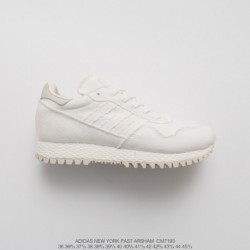 Cm7193 Hidden Mystery Crossover Daniel Arsham X Adidas Originals New York White UV New York City Vintage Jogging Shoes The Past